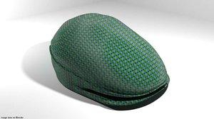 3D cap flat hat