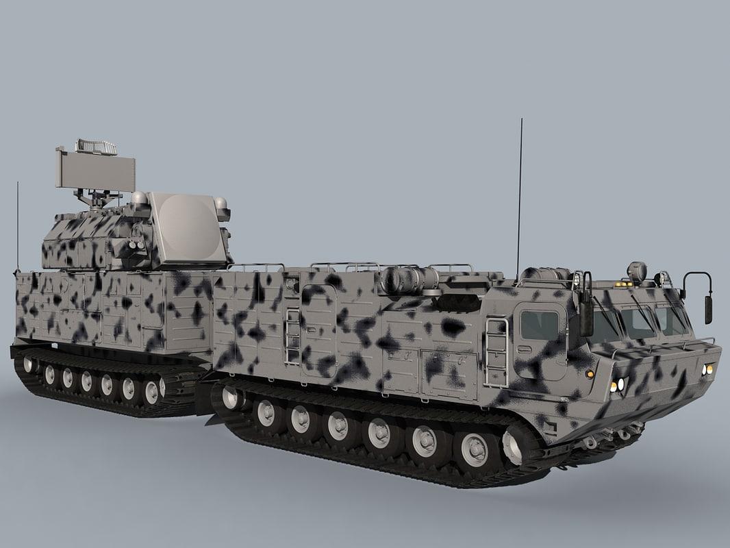 tor-m2dt sa-15 3D model