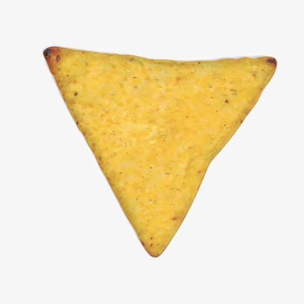 3D tortilla chip