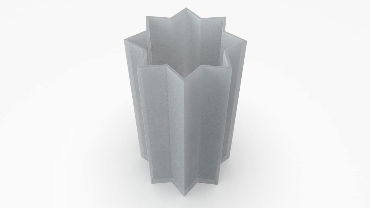 3D modern vase model