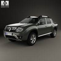 3D renault duster oroch