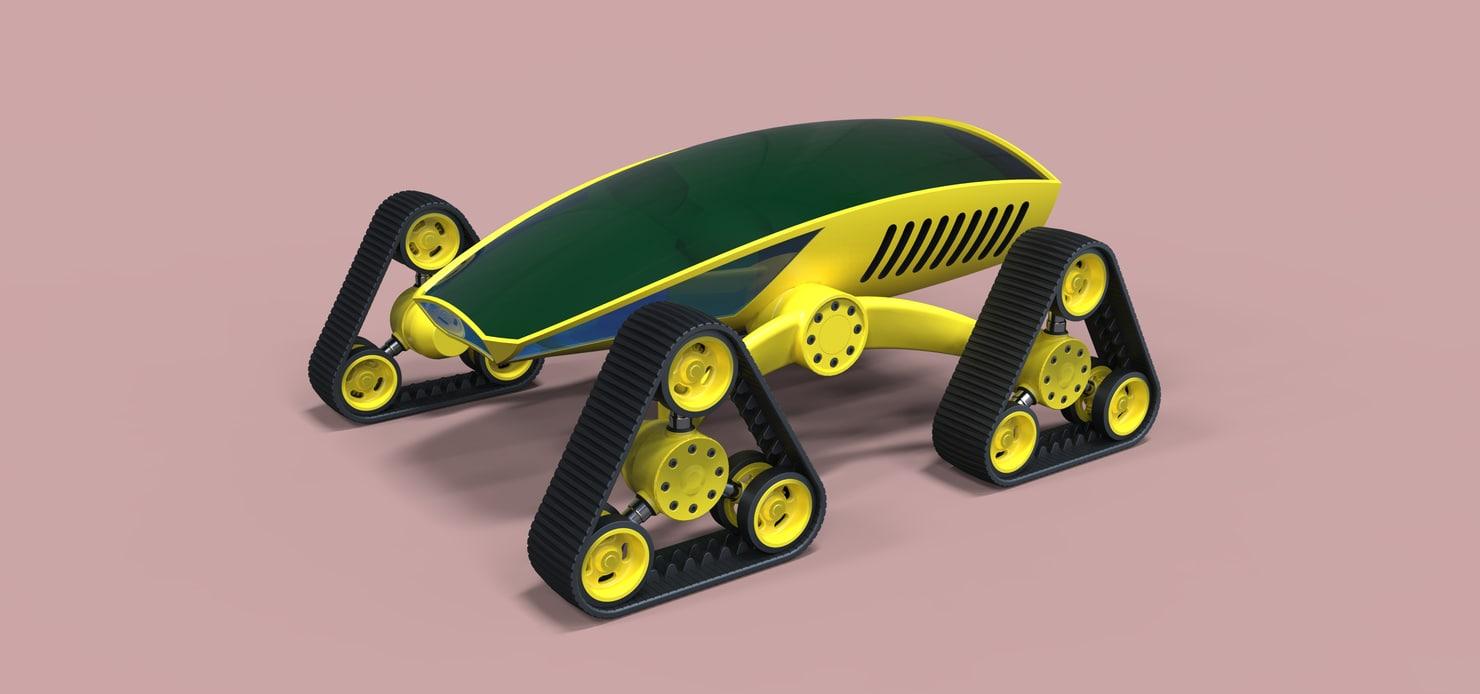 3D tracks model