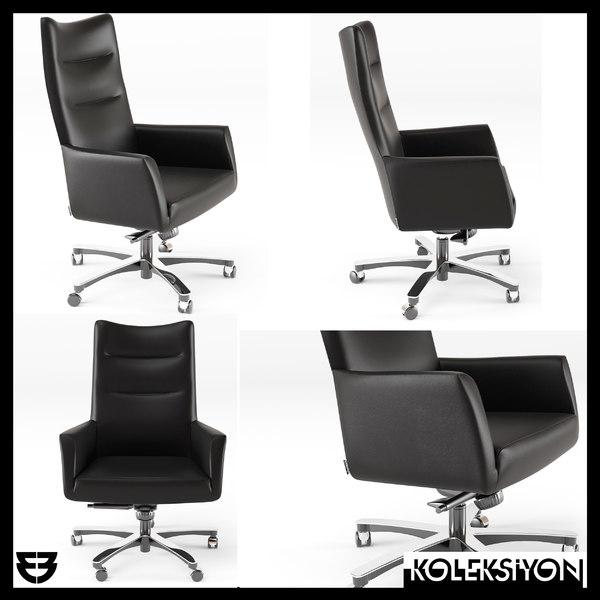 3D koleksiyon anitta armchair chair