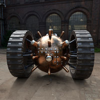 Steampunk Wheelmine