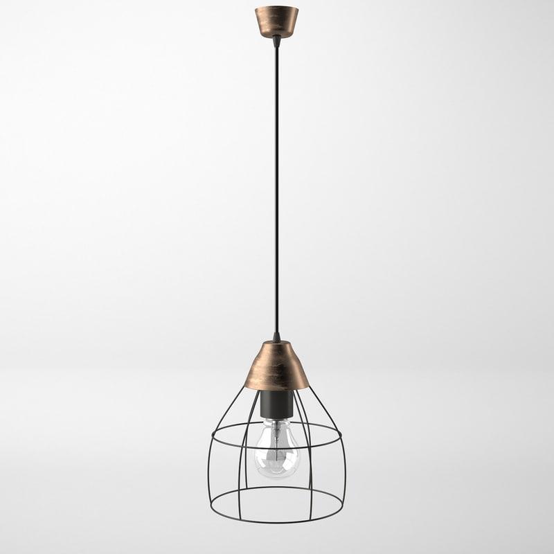 slattbo lamp 3D model
