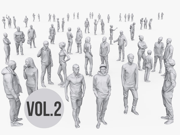 complete people pack volume 2 model