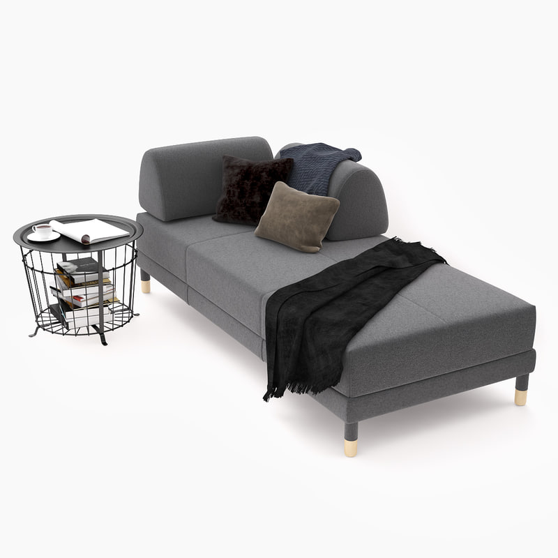 Ikea Sleeper Sofa: 3D Sleeper Sofa Ikea Flottebo