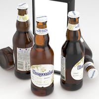 Beer Bottle Hoegaarden Wheat 330ml