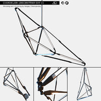 3D model chandelier becbrittain shy 15