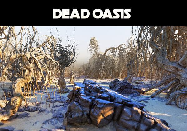 3D dead oasis