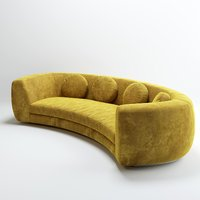 INDIA MAHDAVI JELLY PEA SOFA