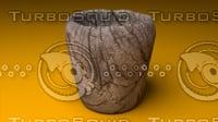 3D wood cup