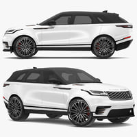 3D 2018 land rover range model