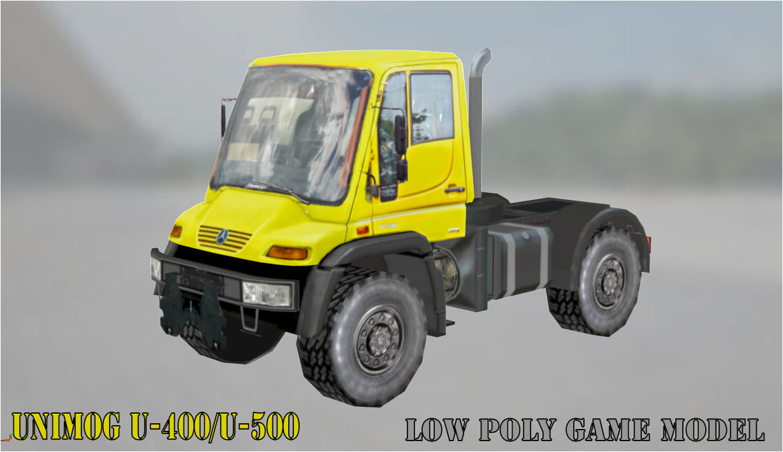 u400 u500 3D model