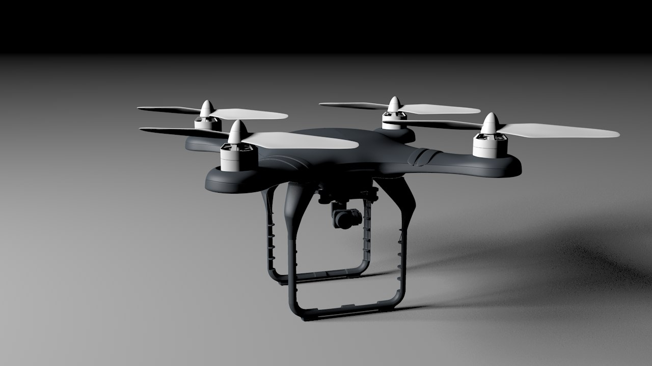 3D drone