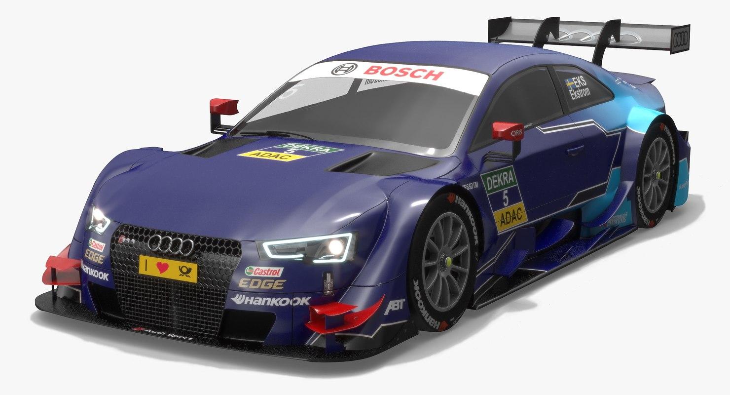 3D model audi sport team abt