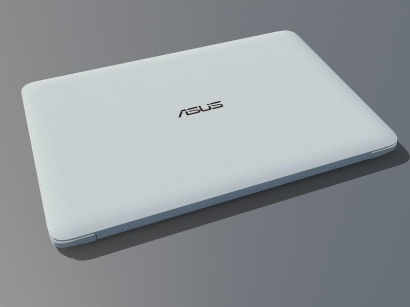 laptop unity 3D model