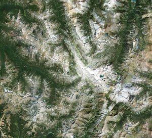 highpoly wallowa mountains model