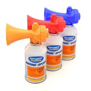 air horn 3D model