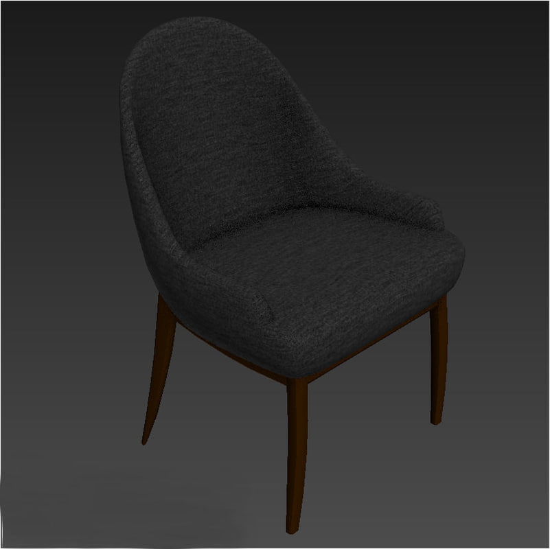 3D soft chair model