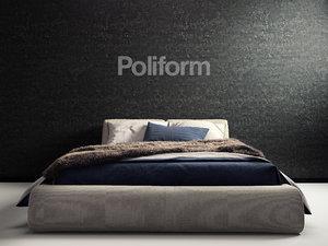 poliform bolton 3D model
