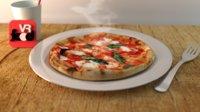 3D scan italian pizza