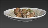 Beaf tatarian dish ( Beshbarmak )