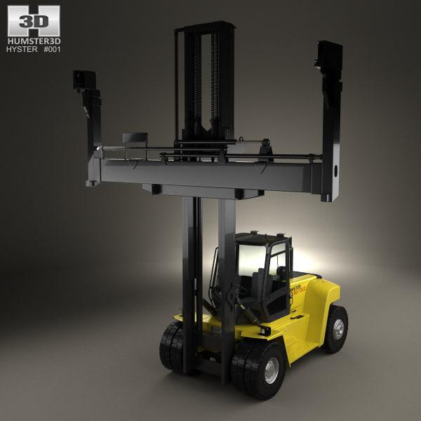 3D model hyster h10-12xm-12ec h10