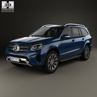 mercedes-benz gls-class gls 3D model