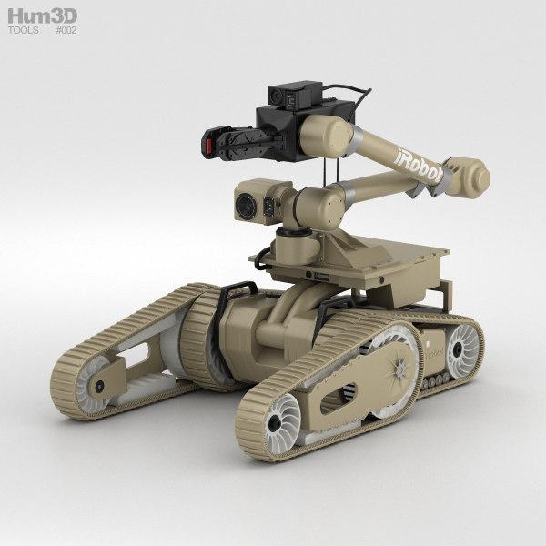 3D irobot kobra 710 model