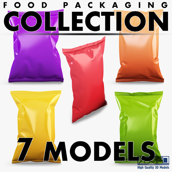 food packaging volume 1 3D