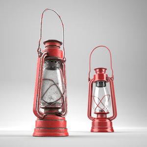 3D oillamp model