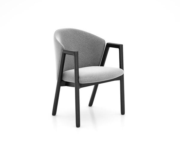 pub chair bensen 3D model