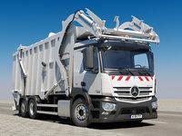 3D antos garbage truck