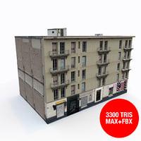 clasical building 3D