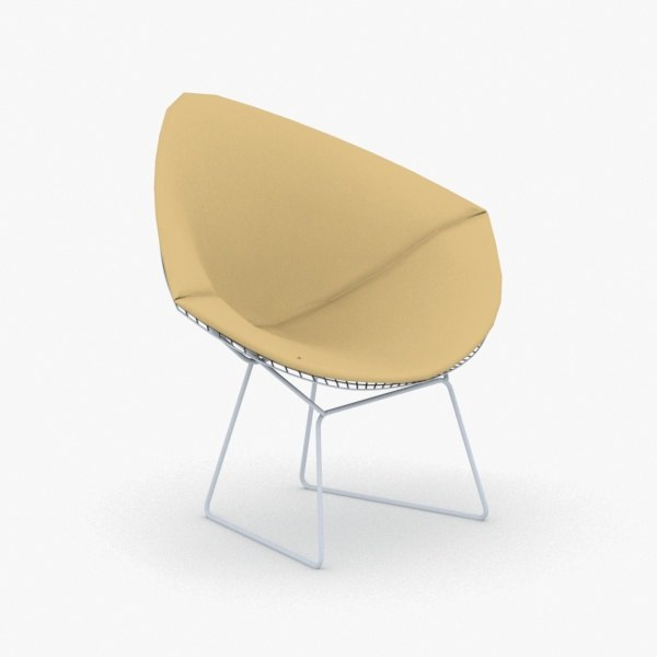 interior - chair stool 3D model