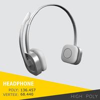 3D head phone