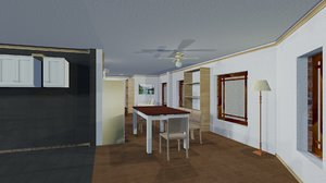 furnish floor house interiors model