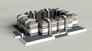 modern building office 3D model