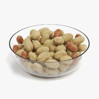 Peanuts in Bowl