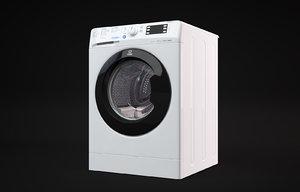 3D indesit washing machine