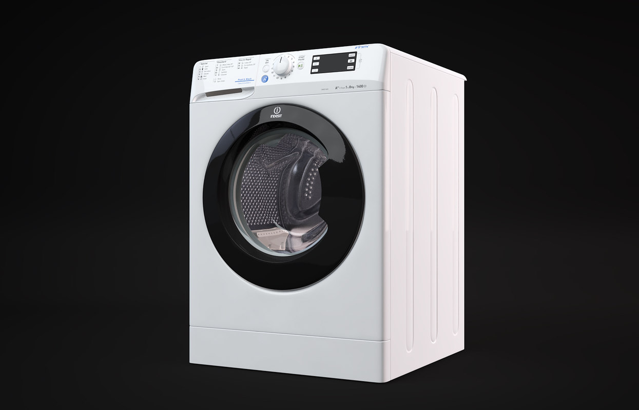 3D indesit washing machine