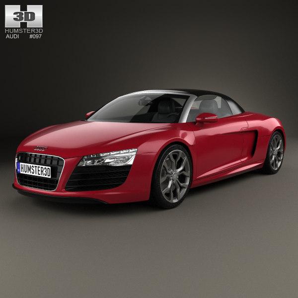 Audi R8 Spyder Model