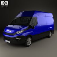 3D iveco daily panel