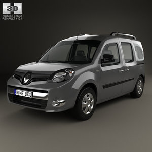 renault kangoo 2014 3D model
