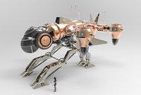 3D animal terminator model