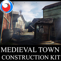 Medieval Town Construction Kit