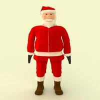 Santa Claus Faceted
