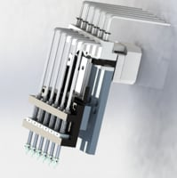 filling head motor sending 3D