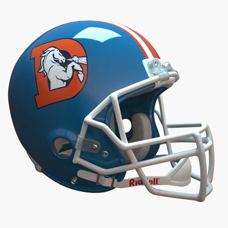 football helmet model